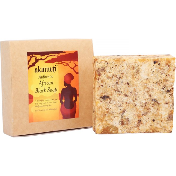 Akamuti Authentic African Black Soap