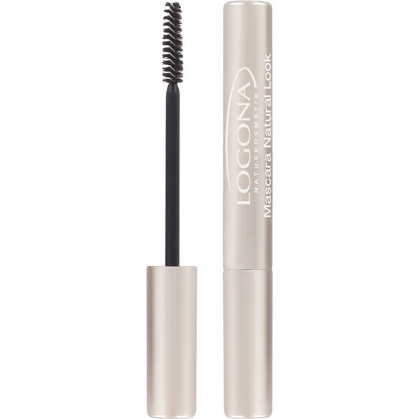 Logona Mascara Natural Look - Black, 8 ml